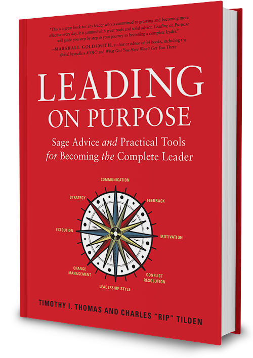 Leading on Purpose book